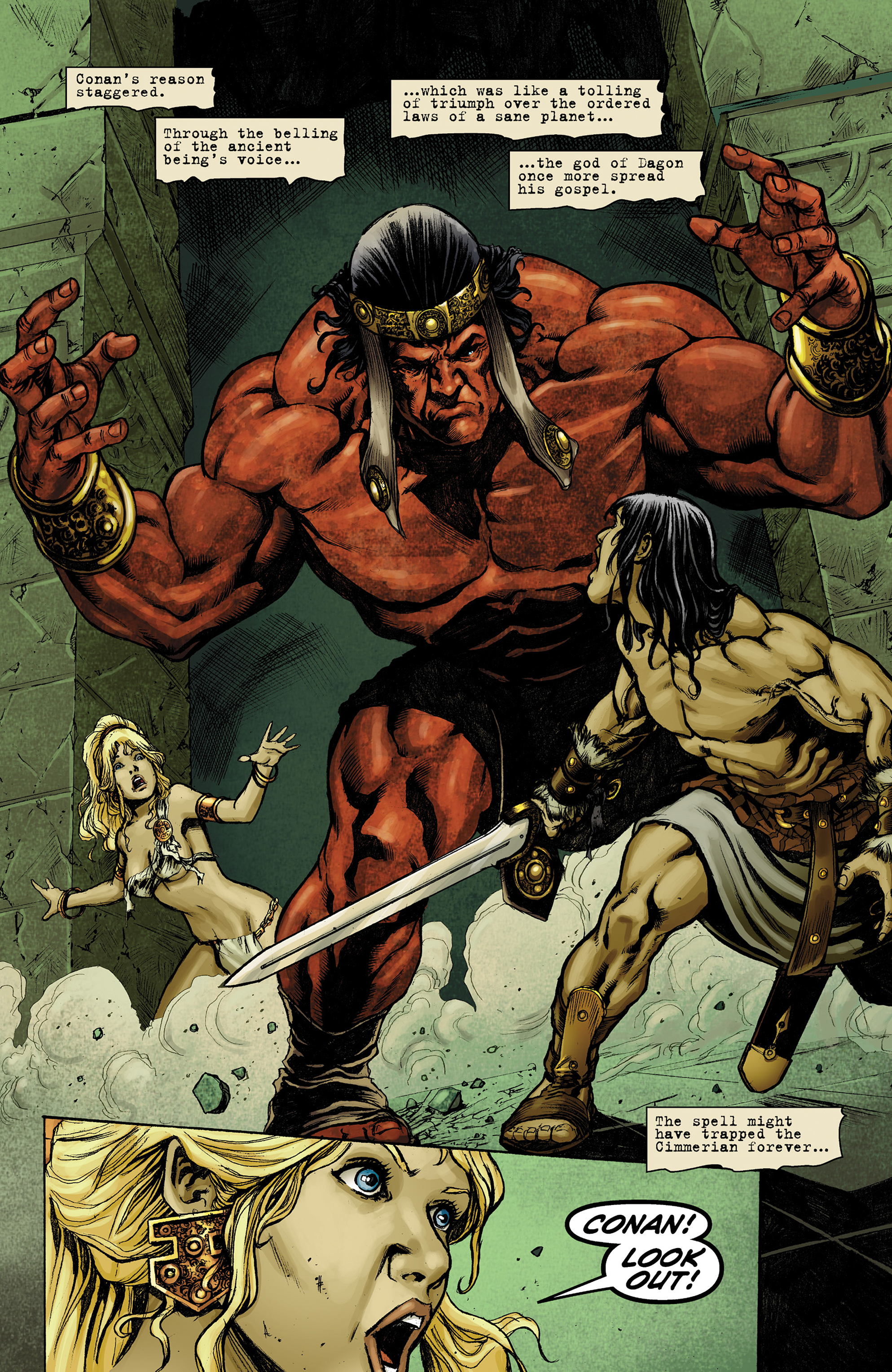 Read online Conan The Slayer comic -  Issue #9 - 20