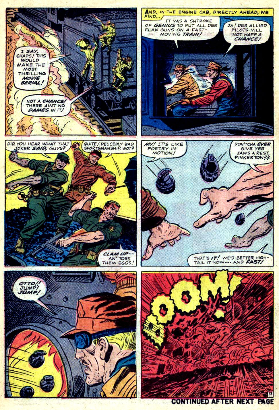 Read online Sgt. Fury comic -  Issue #22 - 18