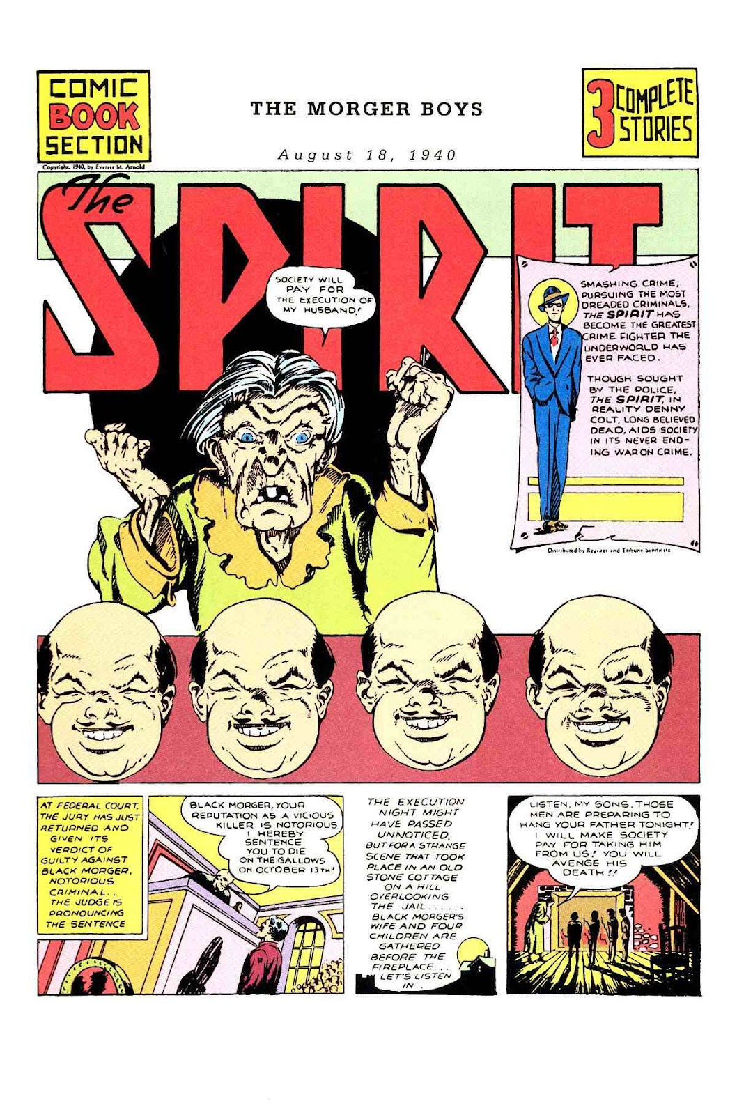 Read online Will Eisner's The Spirit Archives comic -  Issue # TPB 1 (Part 1) - 79