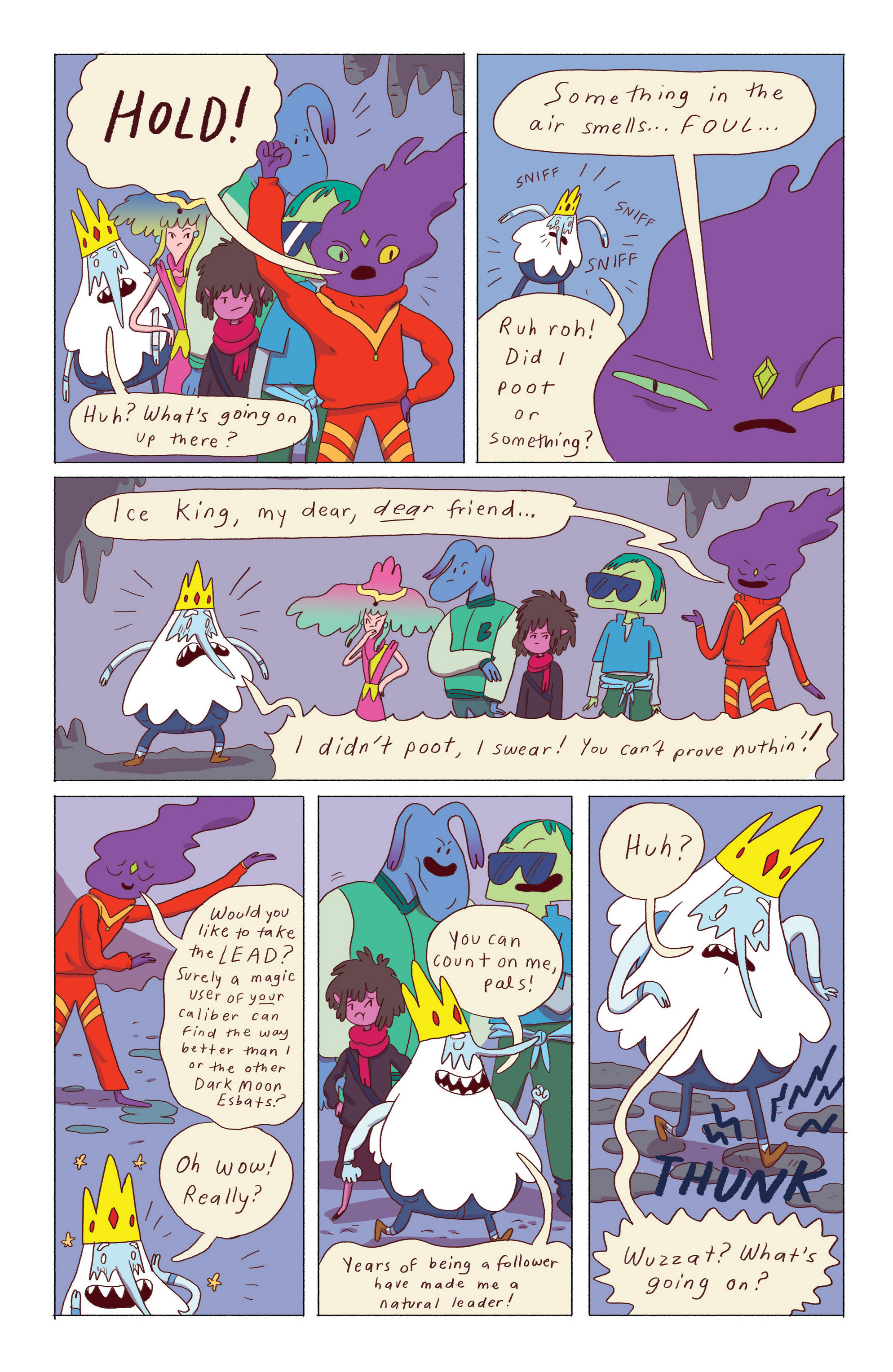 Read online Adventure Time: Ice King comic -  Issue #5 - 5
