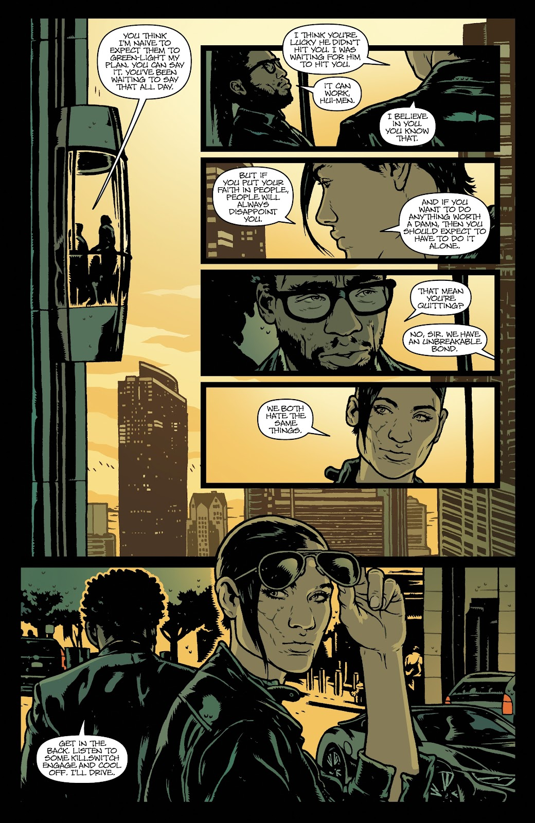 Read online Vindication comic -  Issue #1 - 30