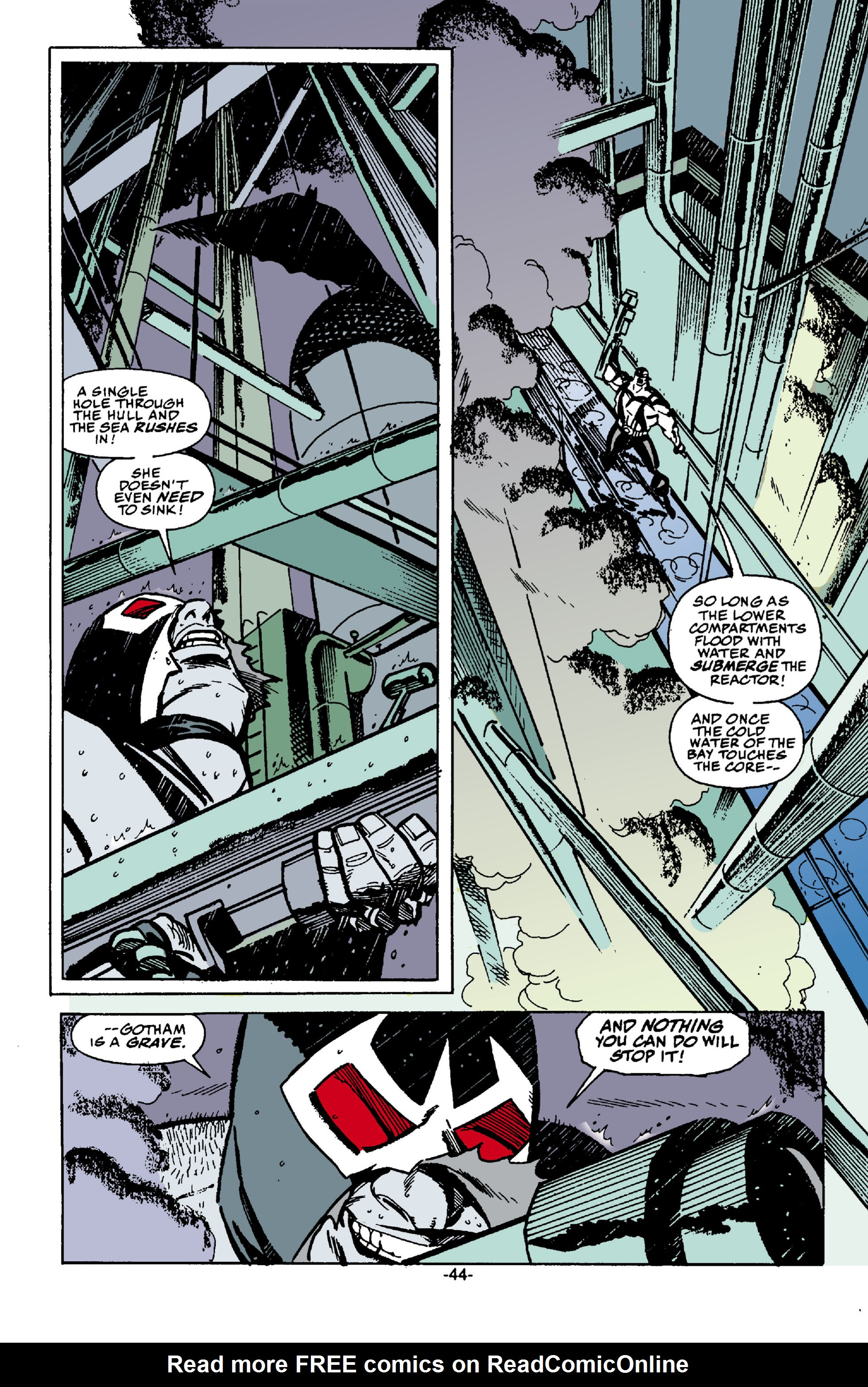 Read online Batman: Bane comic -  Issue # Full - 45