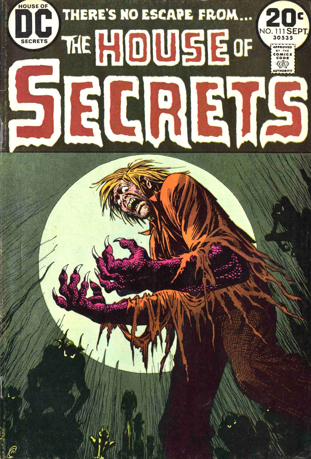 House of Secrets (1956) issue 111 - Page 1