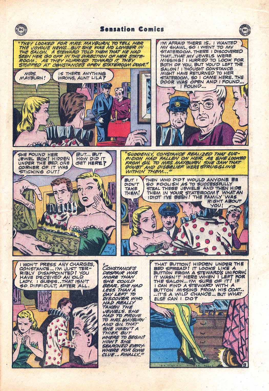 Read online Sensation (Mystery) Comics comic -  Issue #94 - 31