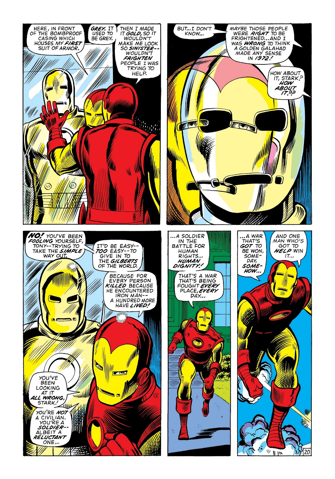 Read online Marvel Masterworks: The Invincible Iron Man comic -  Issue # TPB 8 (Part 2) - 86