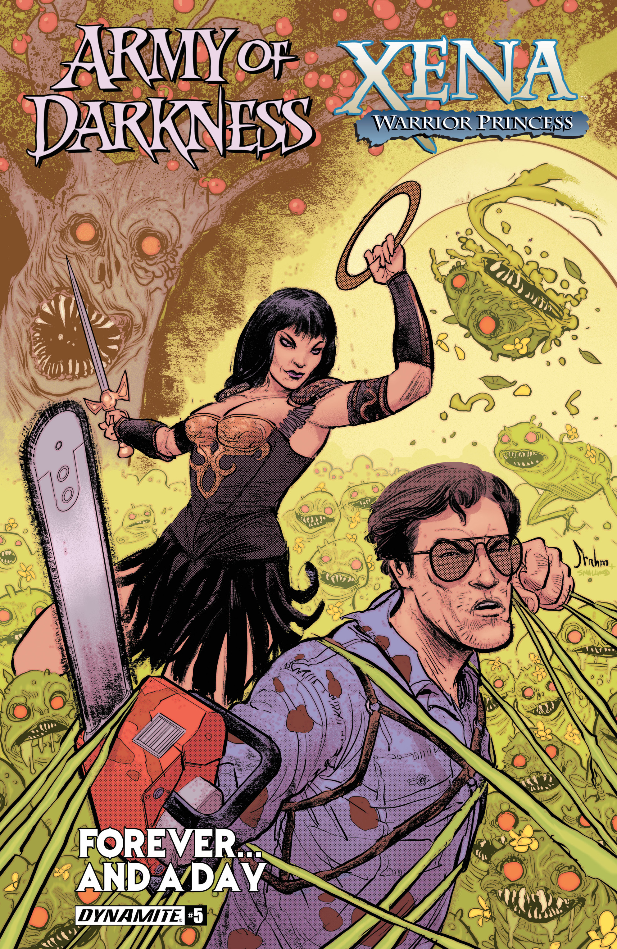 Read online Army Of Darkness/Xena: Forever…And A Day comic -  Issue #5 - 1