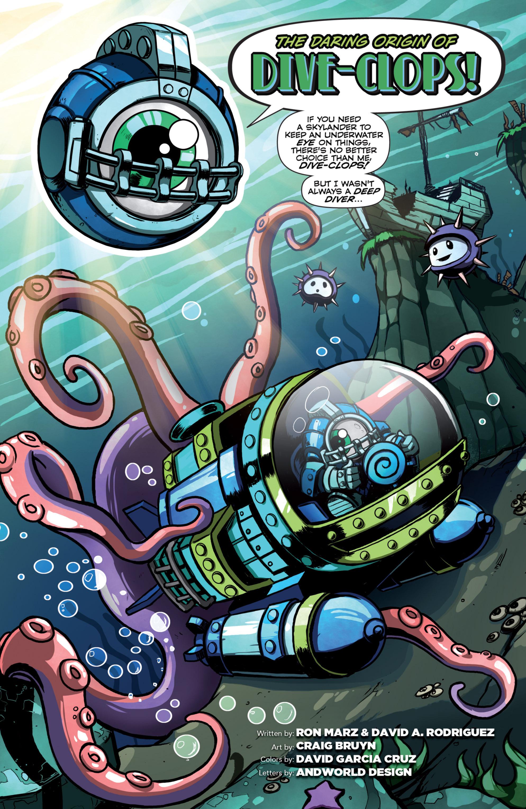 Read online Skylanders Superchargers comic -  Issue #4 - 20