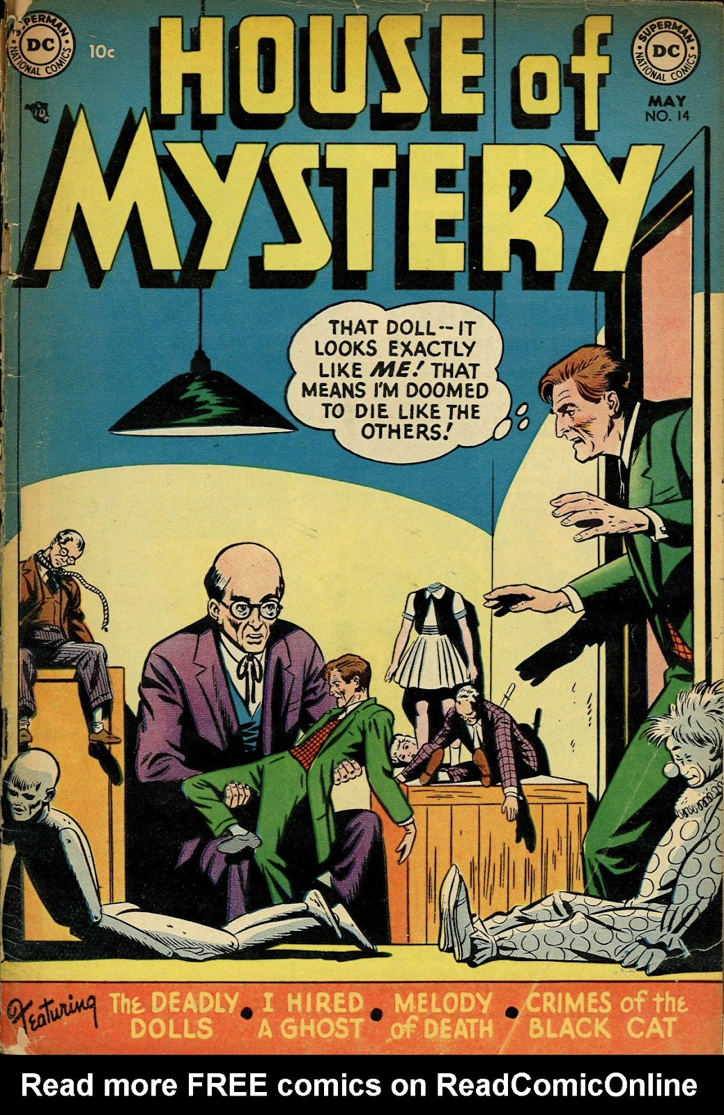 House of Mystery (1951) issue 14 - Page 1