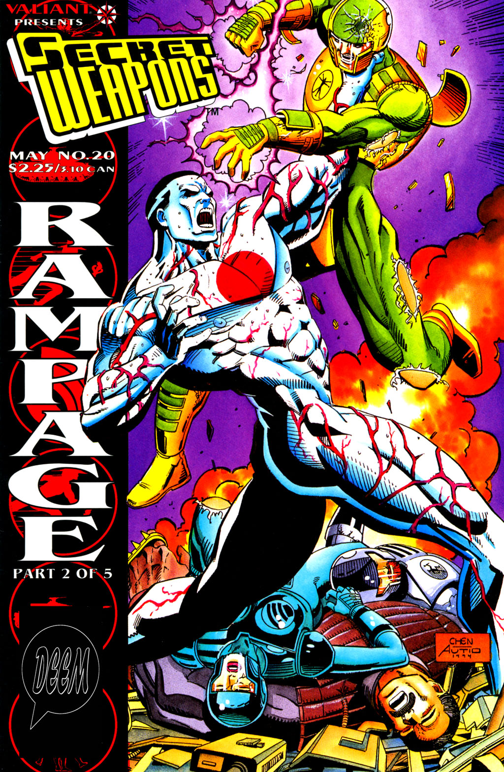 Read online Secret Weapons comic -  Issue #20 - 1