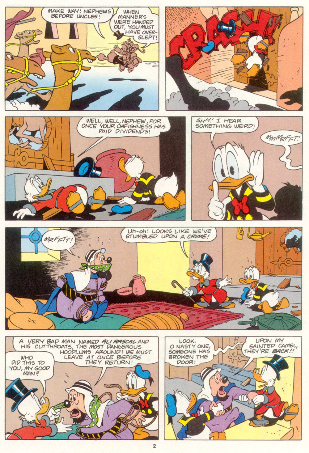 Read online Uncle Scrooge (1953) comic -  Issue #267 - 22