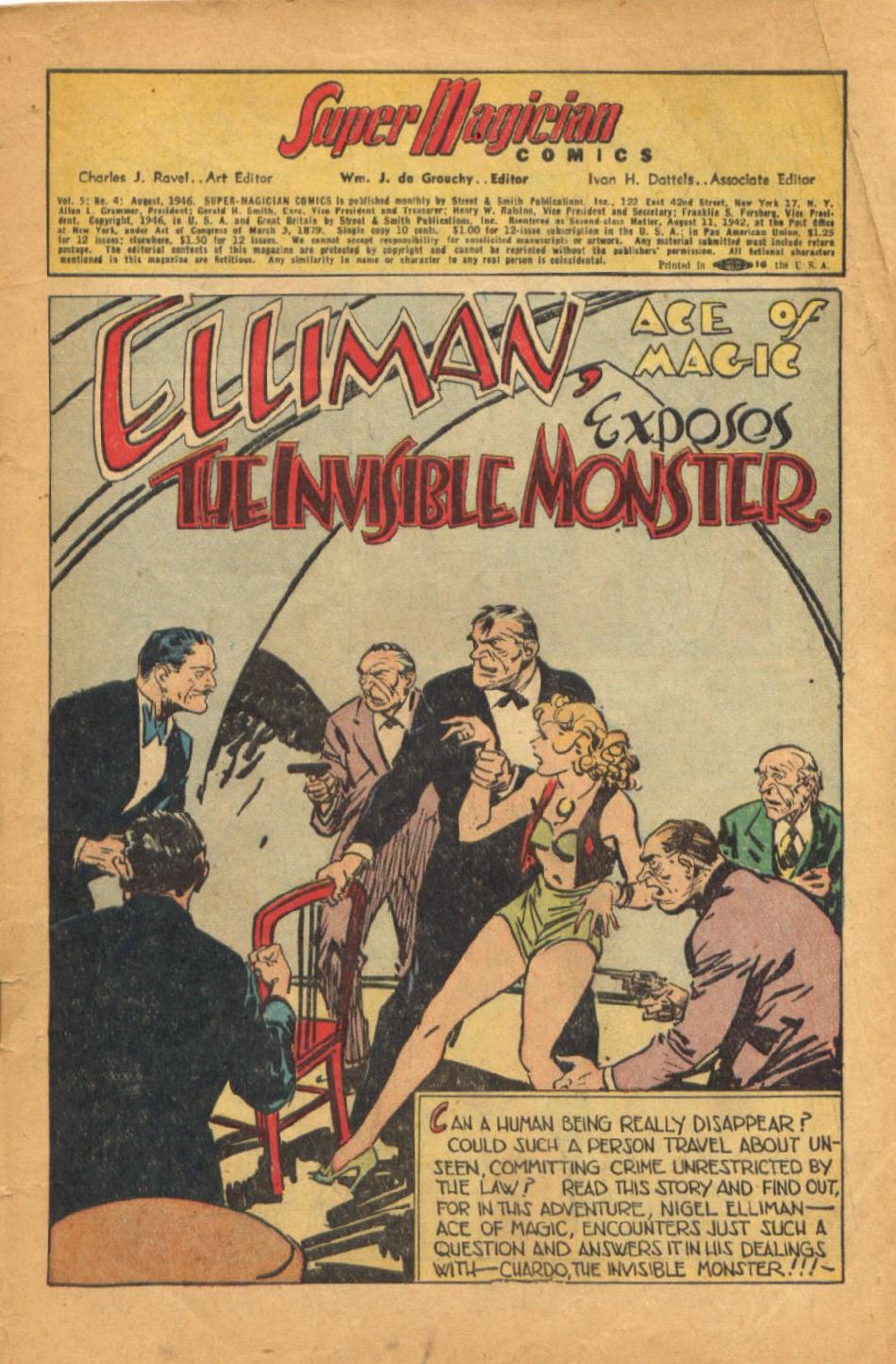 Read online Super-Magician Comics comic -  Issue #52 - 4