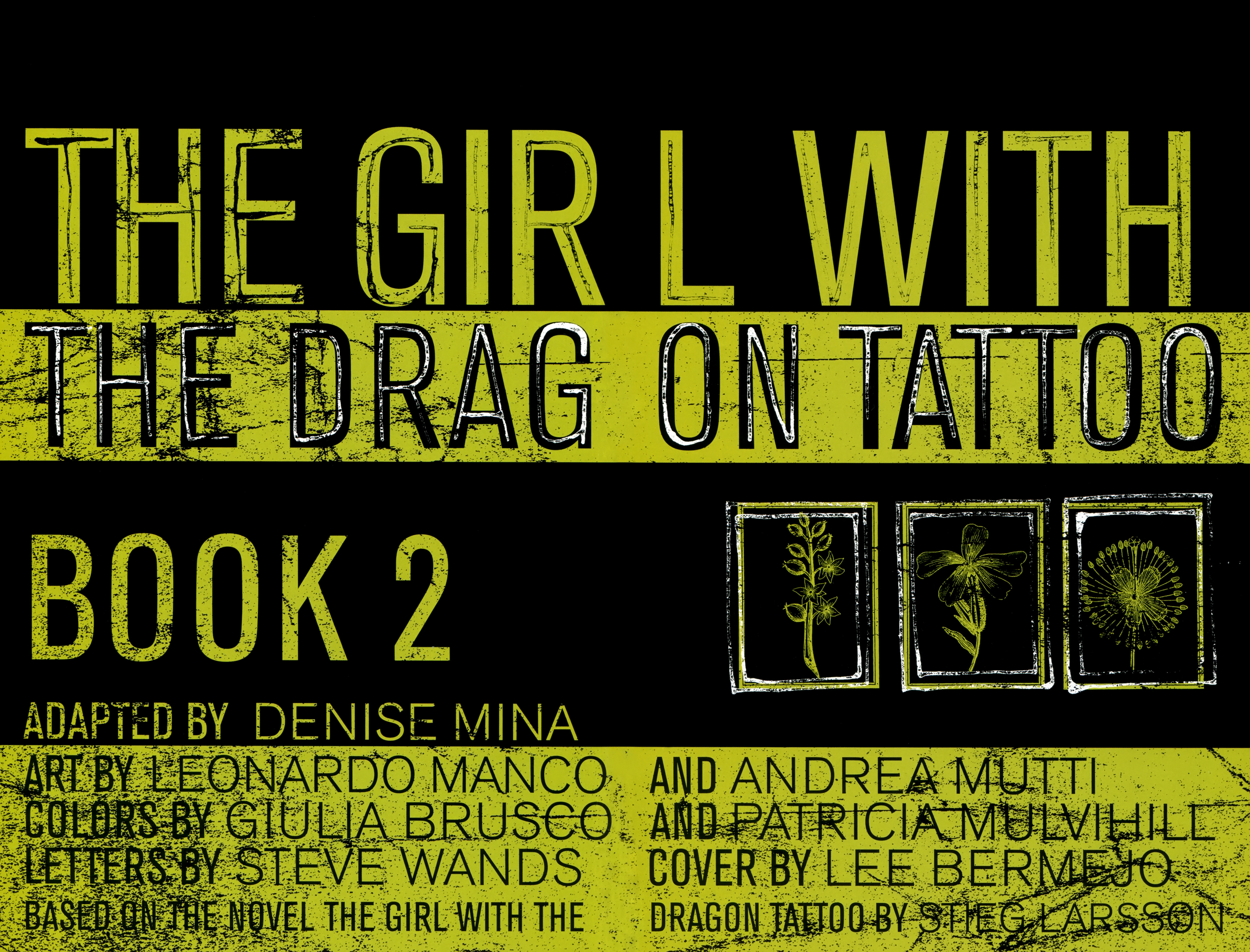 Read online The Girl With the Dragon Tattoo comic -  Issue # TPB 2 - 6