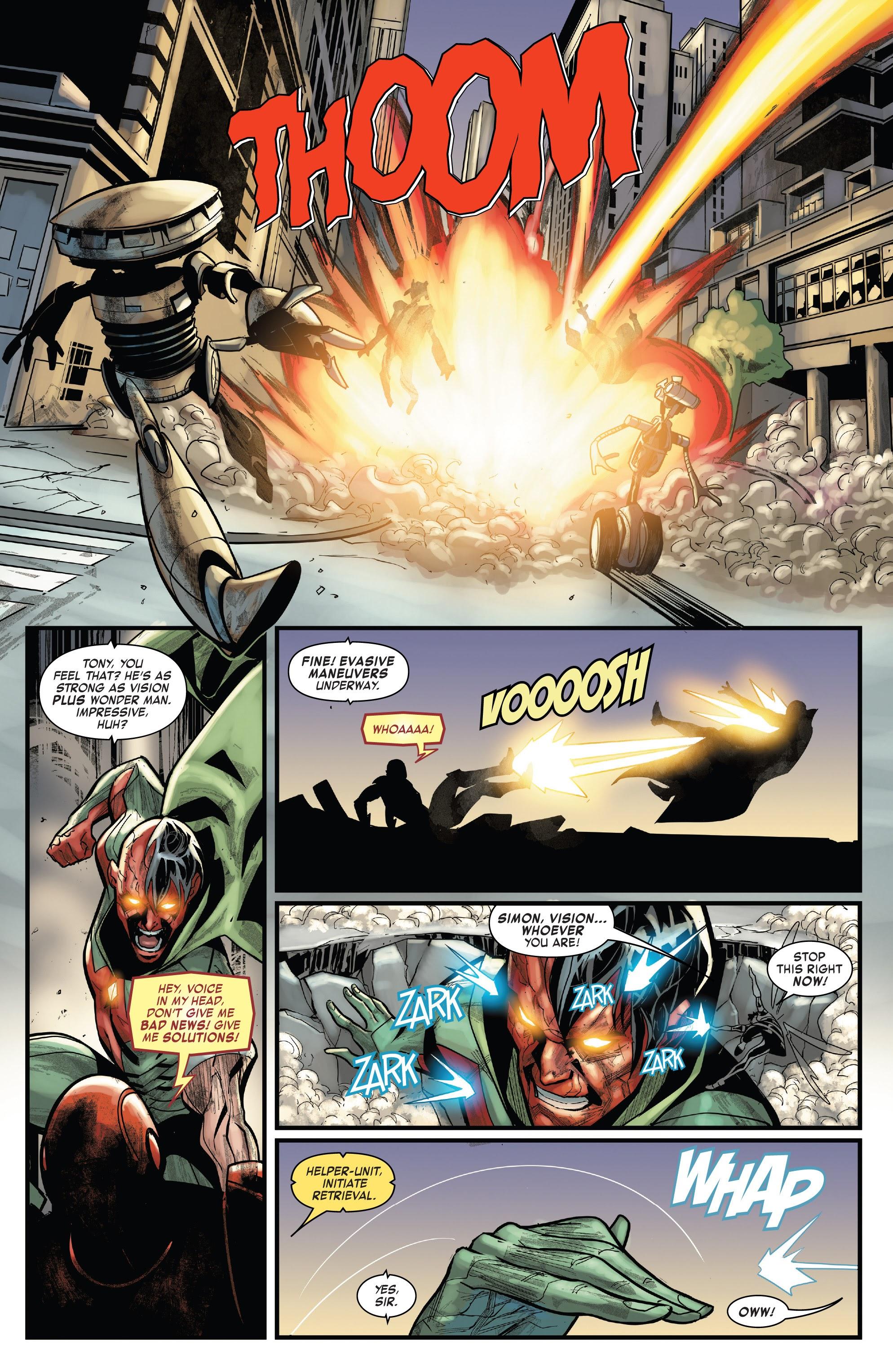 Read online Tony Stark: Iron Man comic -  Issue #15 - 16