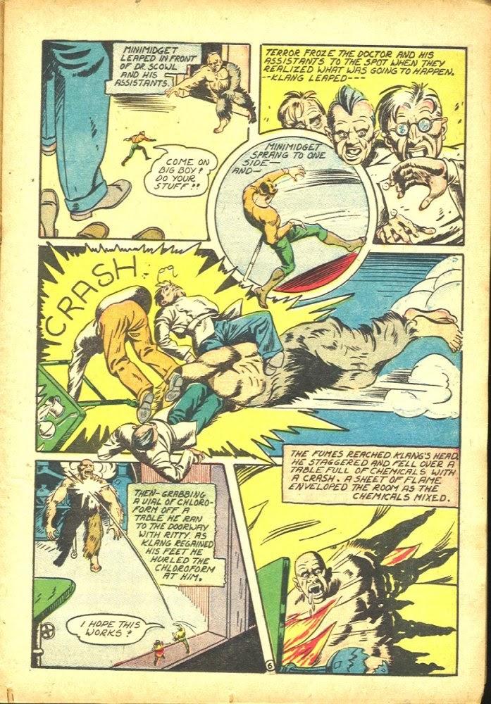 Read online Amazing Man Comics comic -  Issue #25 - 21