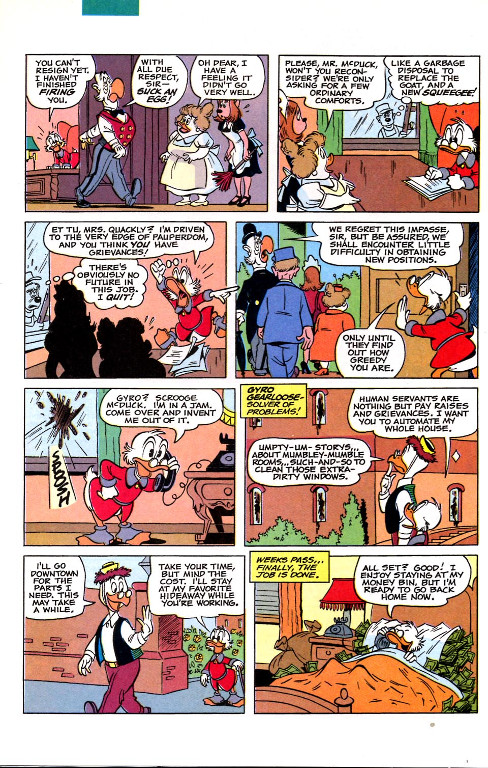 Read online Uncle Scrooge (1953) comic -  Issue #284 - 18