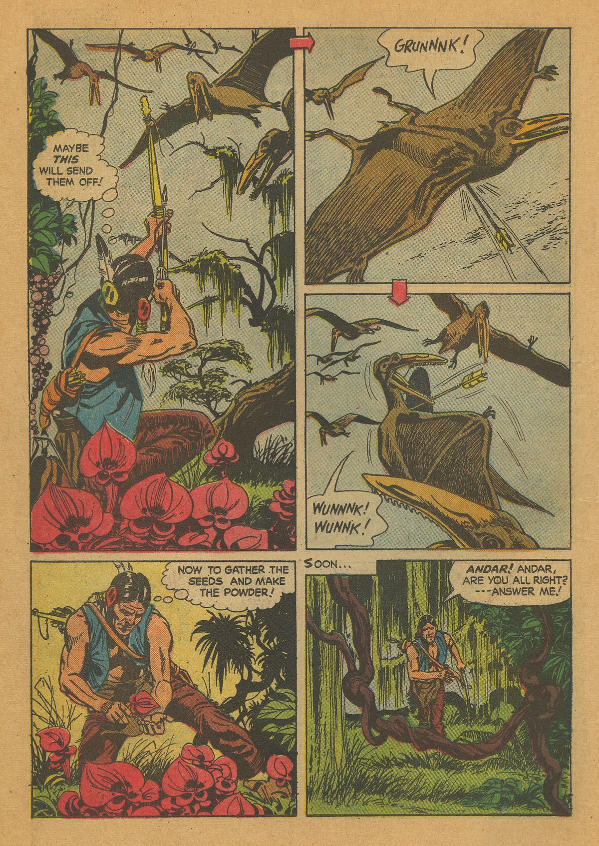 Read online Turok, Son of Stone comic -  Issue #26 - 14