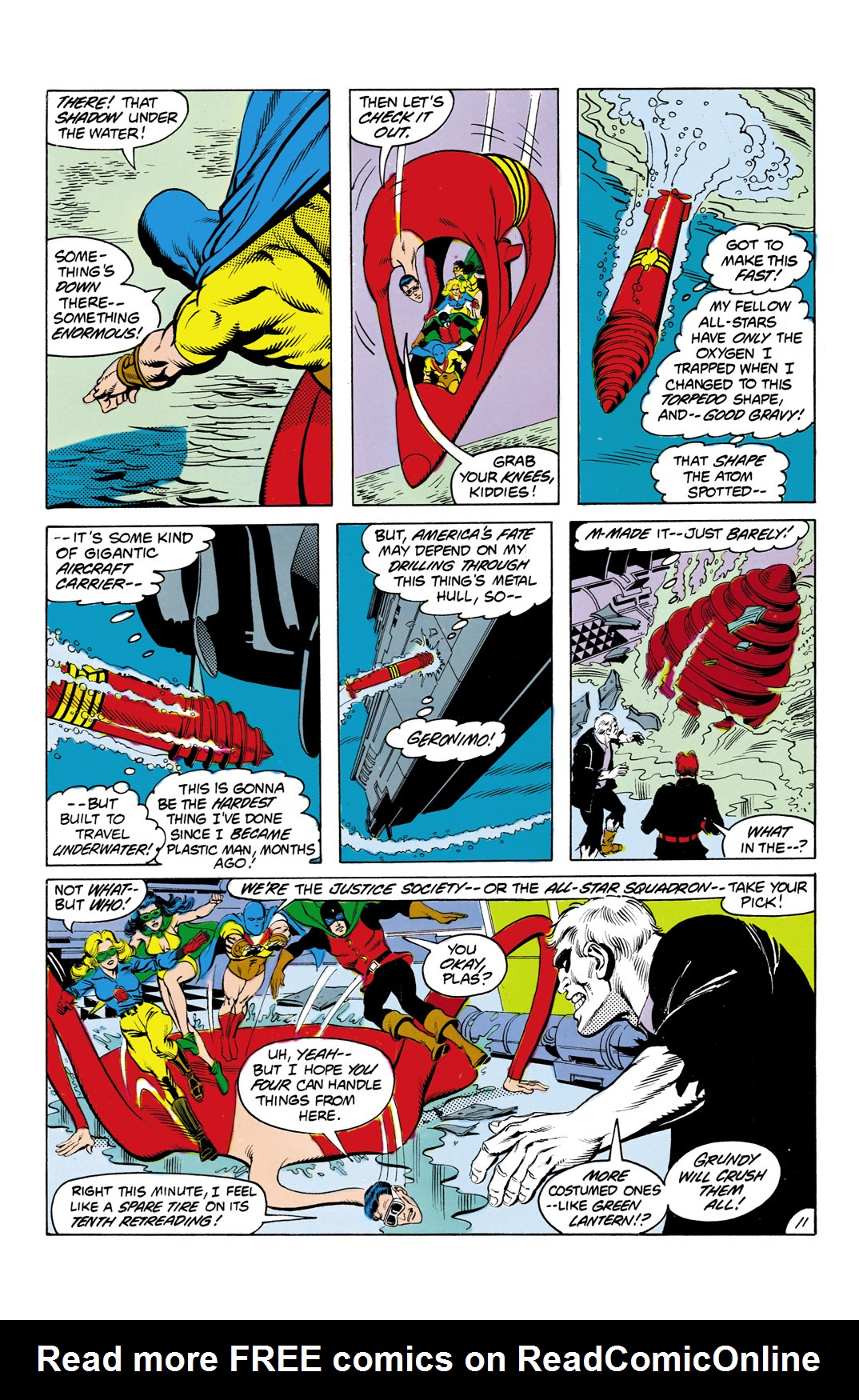 Read online All-Star Squadron comic -  Issue #3 - 12