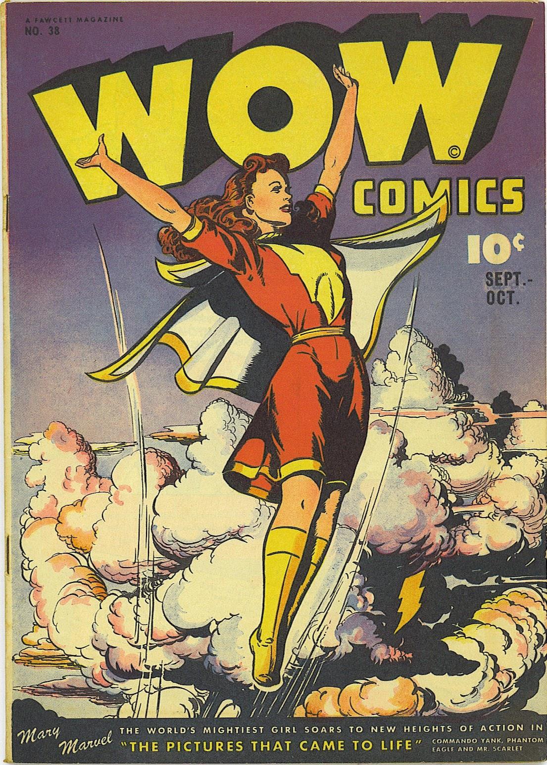 Wow Comics 38 Page 1
