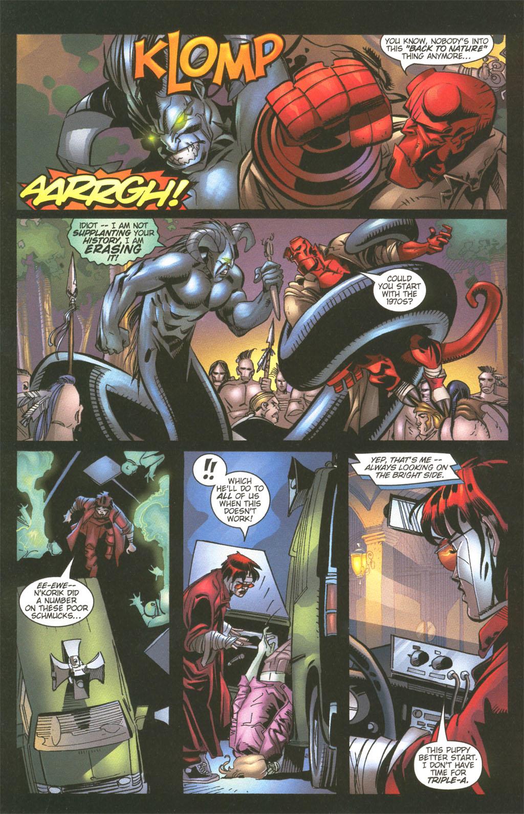 Read online Painkiller Jane/Hellboy comic -  Issue # Full - 20