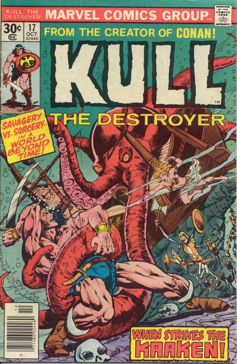 Kull The Destroyer issue 17 - Page 1