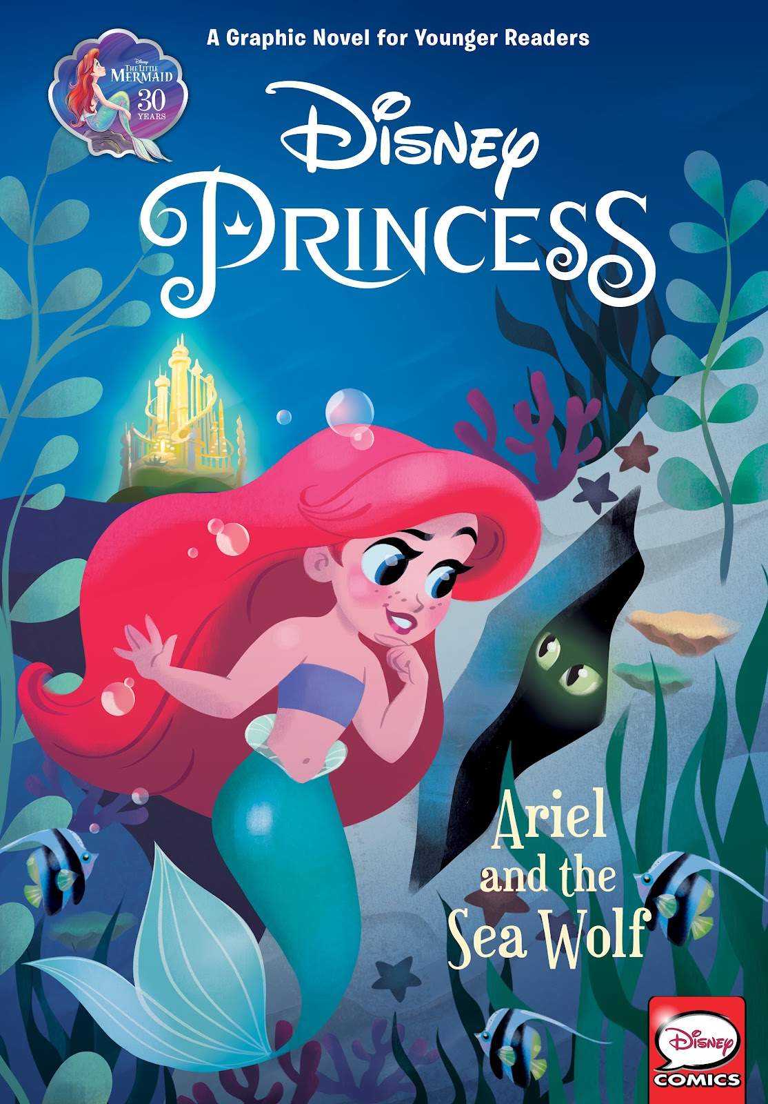 Read online Disney Princess: Ariel and the Sea Wolf comic -  Issue # Full - 1