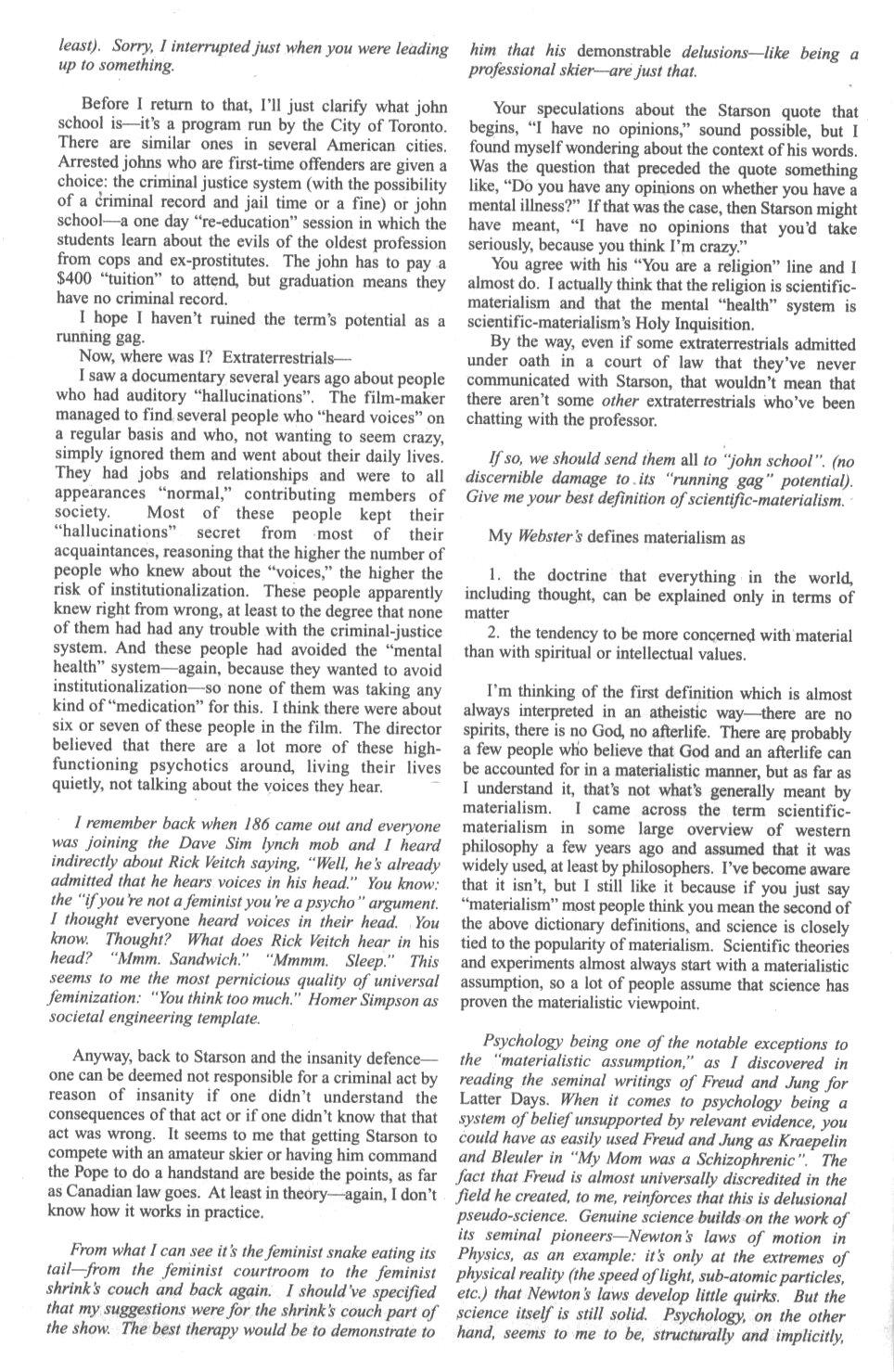 Cerebus Issue #296 #294 - English 38