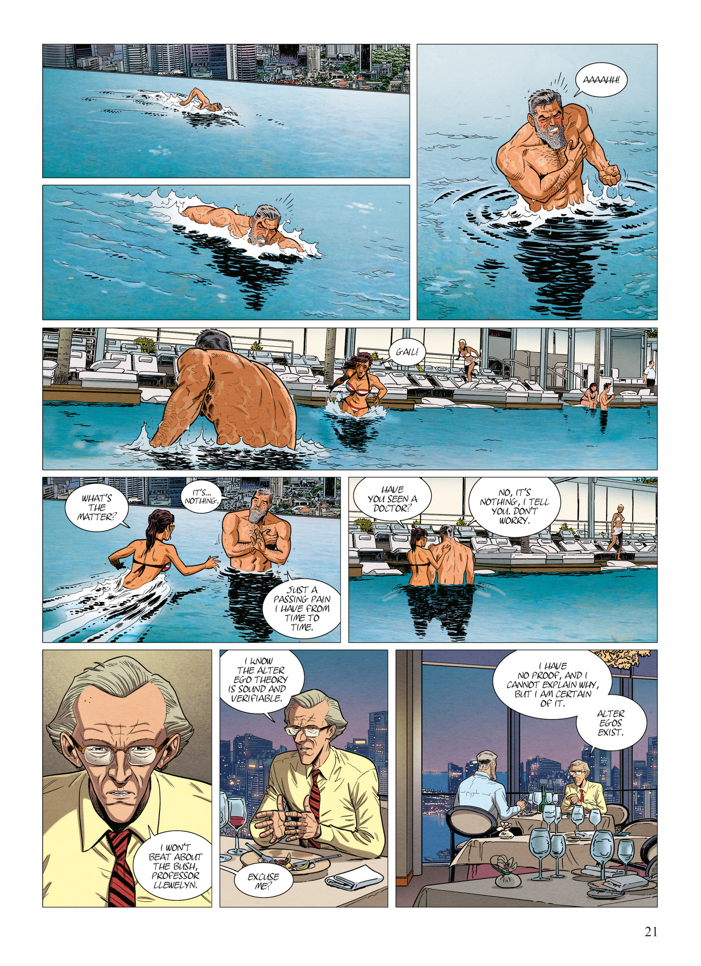 Read online Alter Ego comic -  Issue #10 - 22