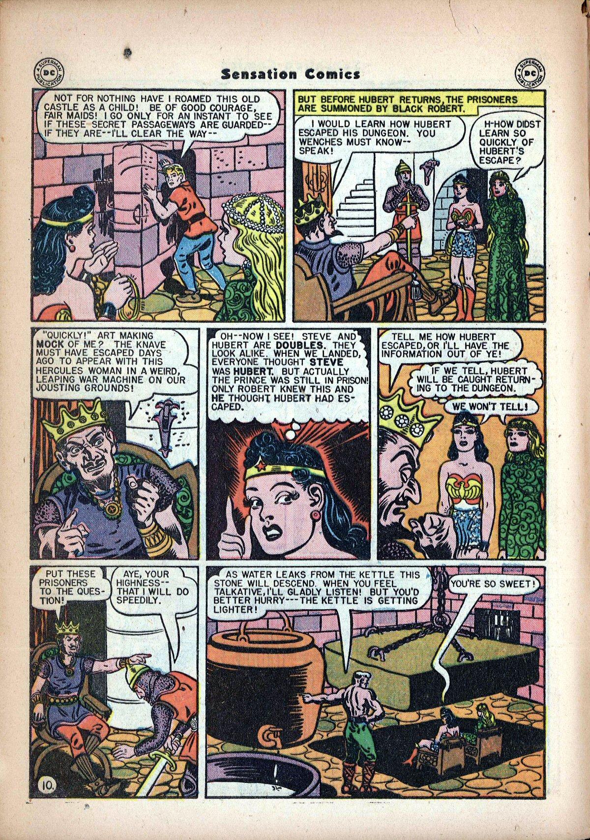 Read online Sensation (Mystery) Comics comic -  Issue #62 - 12