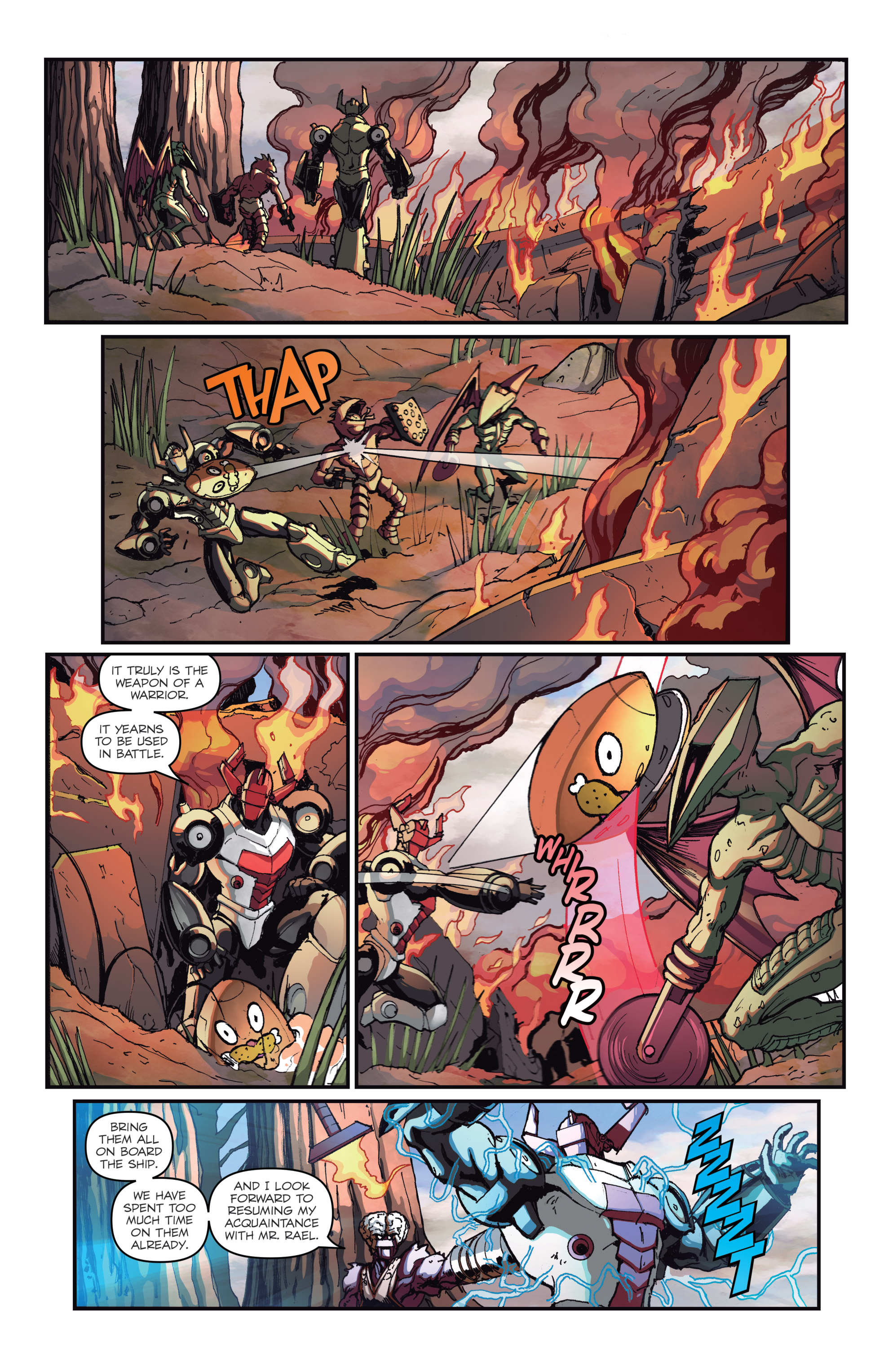 Read online Micronauts: Wrath of Karza comic -  Issue #2 - 14