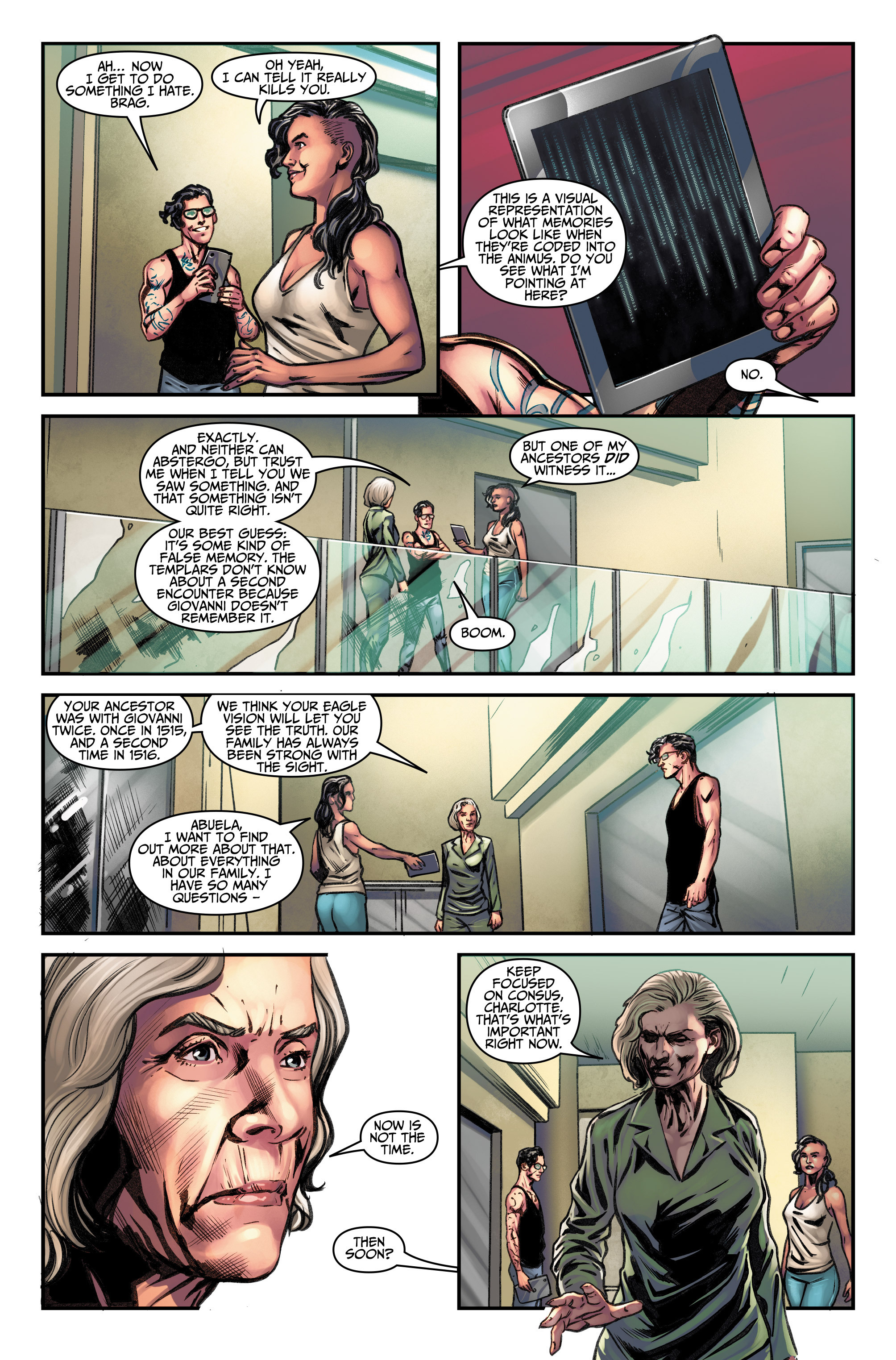 Read online Assassin's Creed (2015) comic -  Issue #11 - 8