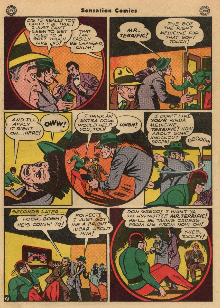 Read online Sensation (Mystery) Comics comic -  Issue #49 - 26