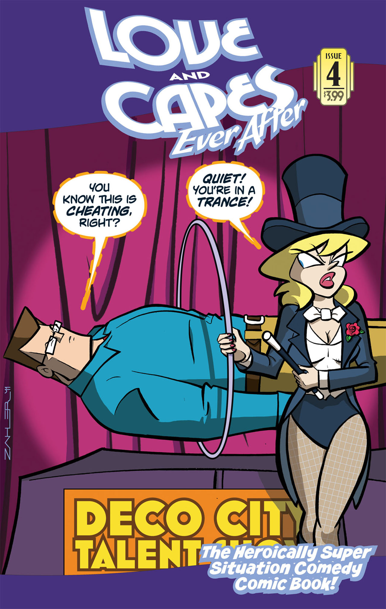 Love and Capes: Ever After 4 Page 1