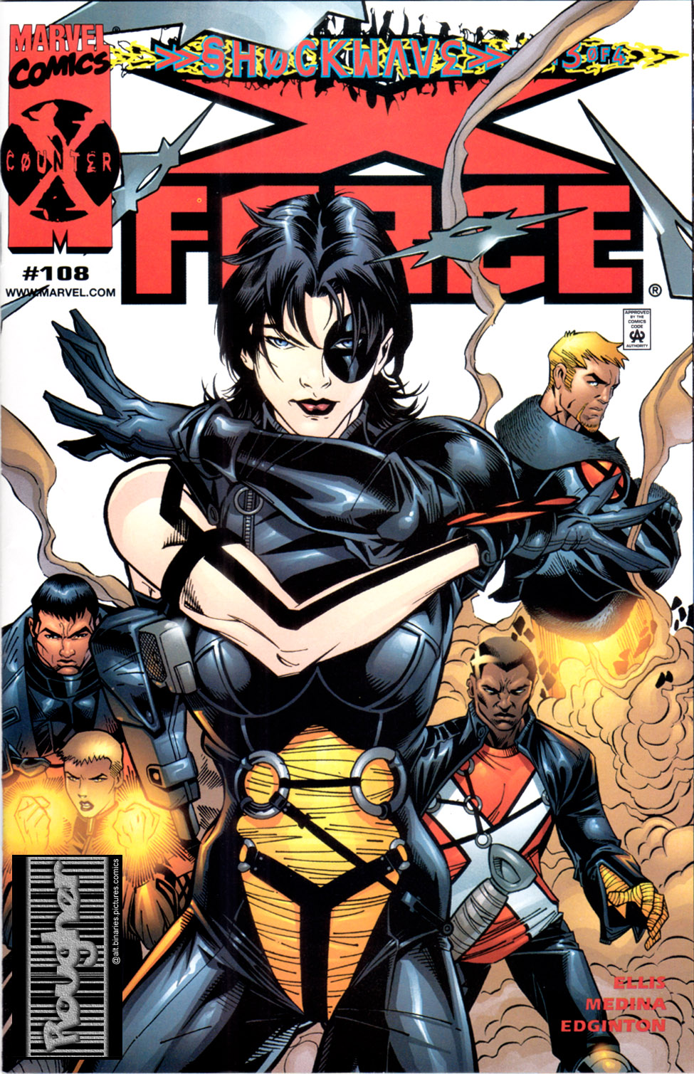 Read online X-Force (1991) comic -  Issue #108 - 1