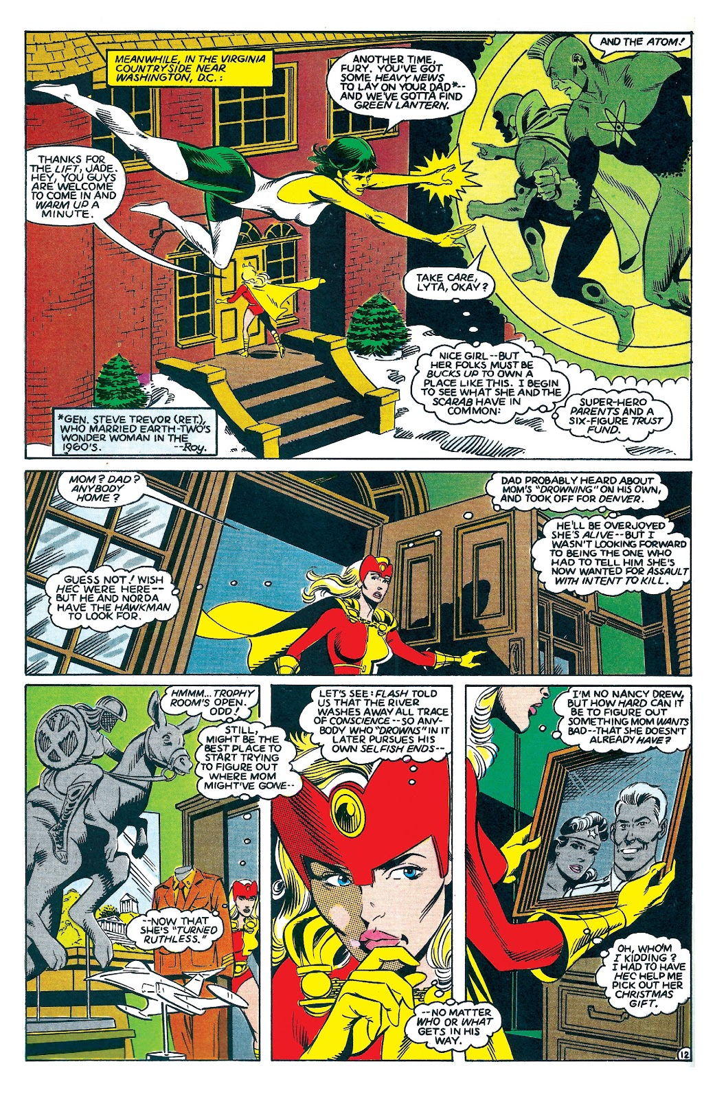 Infinity Inc. (1984) issue 7 - Page 12