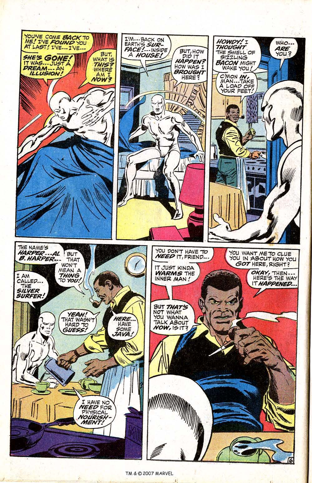 Read online Silver Surfer (1968) comic -  Issue #5 - 8