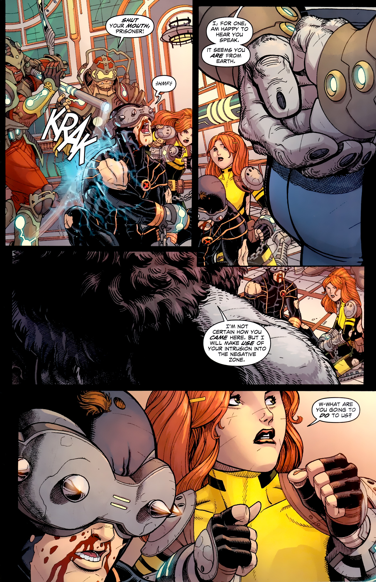 Read online Uncanny X-Men (1963) comic -  Issue # _Annual 3 (2011) - 32