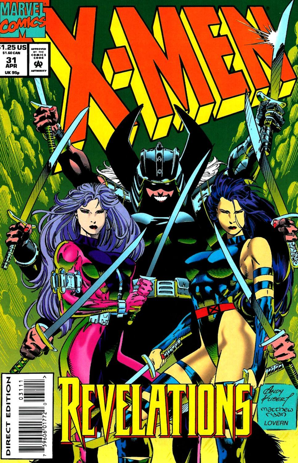 X-Men (1991) 31 Page 0