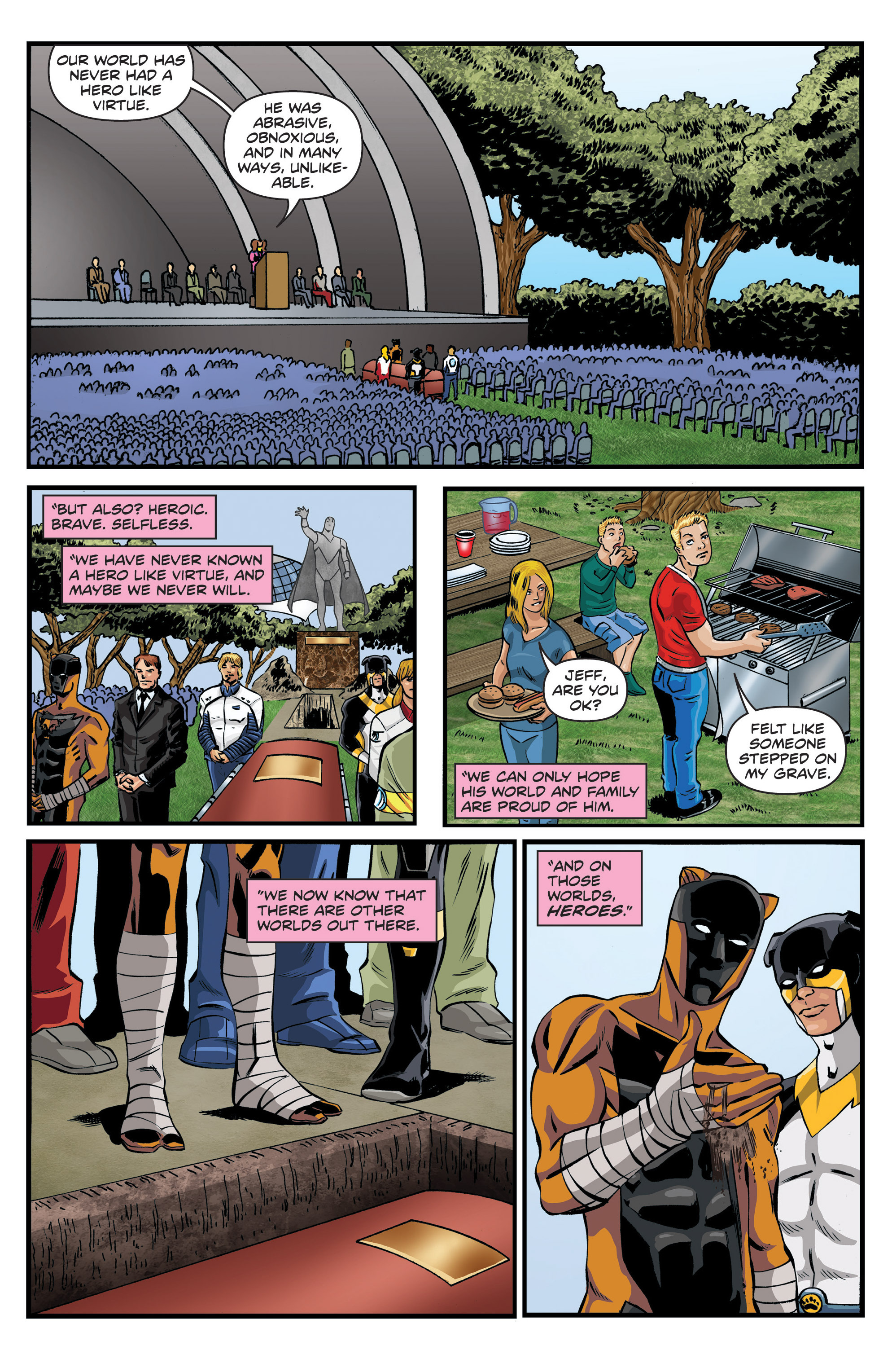 Read online Actionverse comic -  Issue #6 - 20