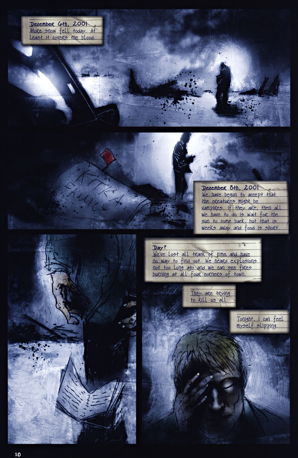 Read online 30 Days of Night: Return to Barrow comic -  Issue #2 - 9