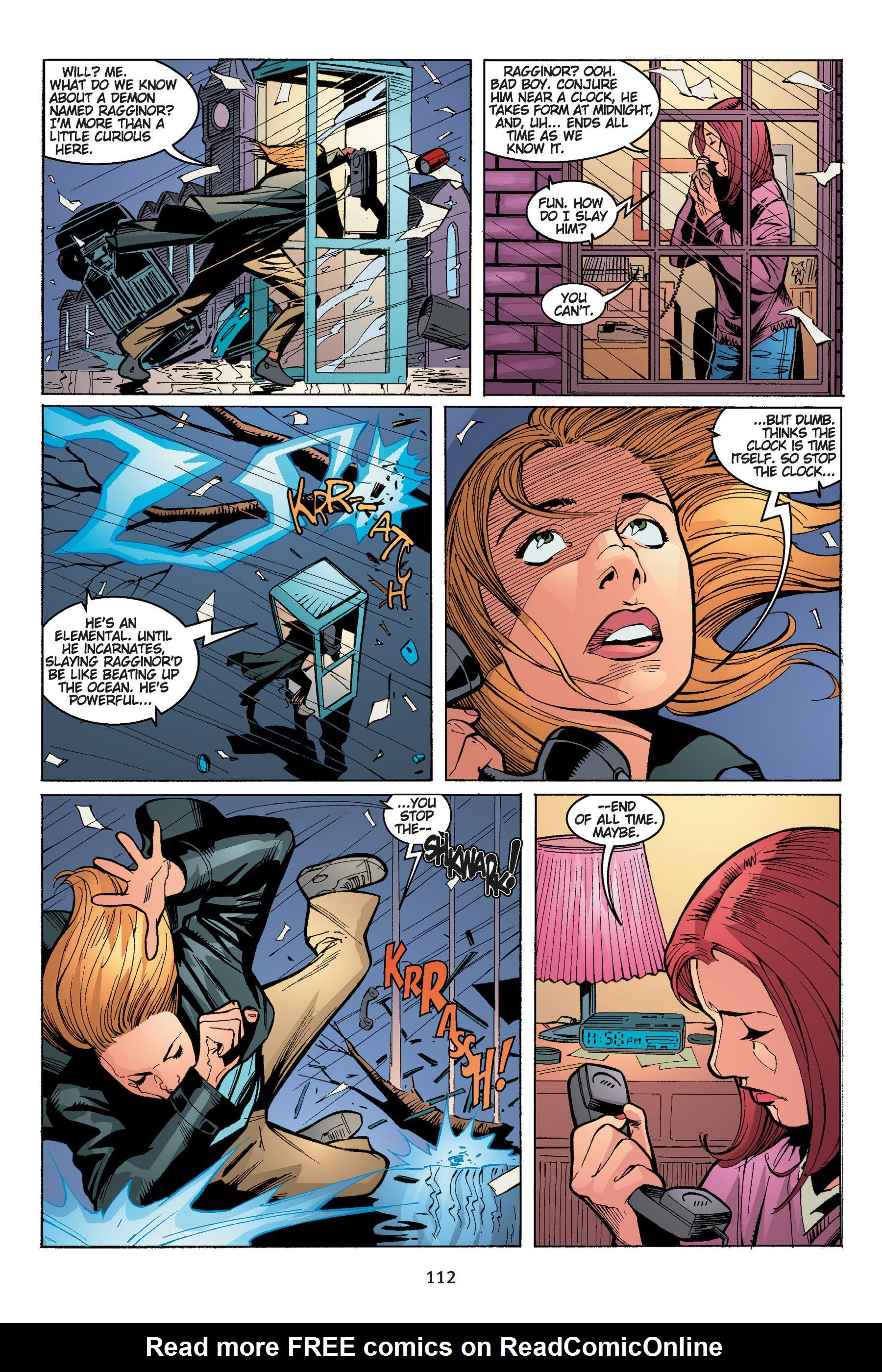 Read online Buffy the Vampire Slayer: Omnibus comic -  Issue # TPB 5 - 113