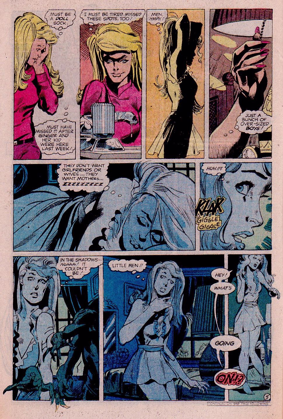 Elvira's House of Mystery Issue #11 #12 - English 9