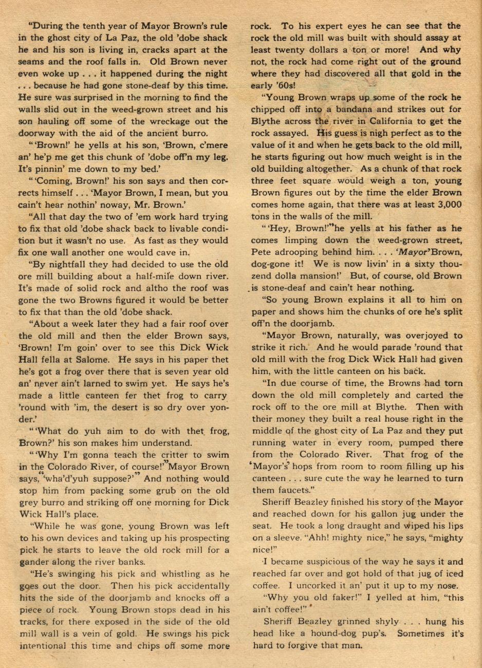 Read online Sensation (Mystery) Comics comic -  Issue #49 - 40