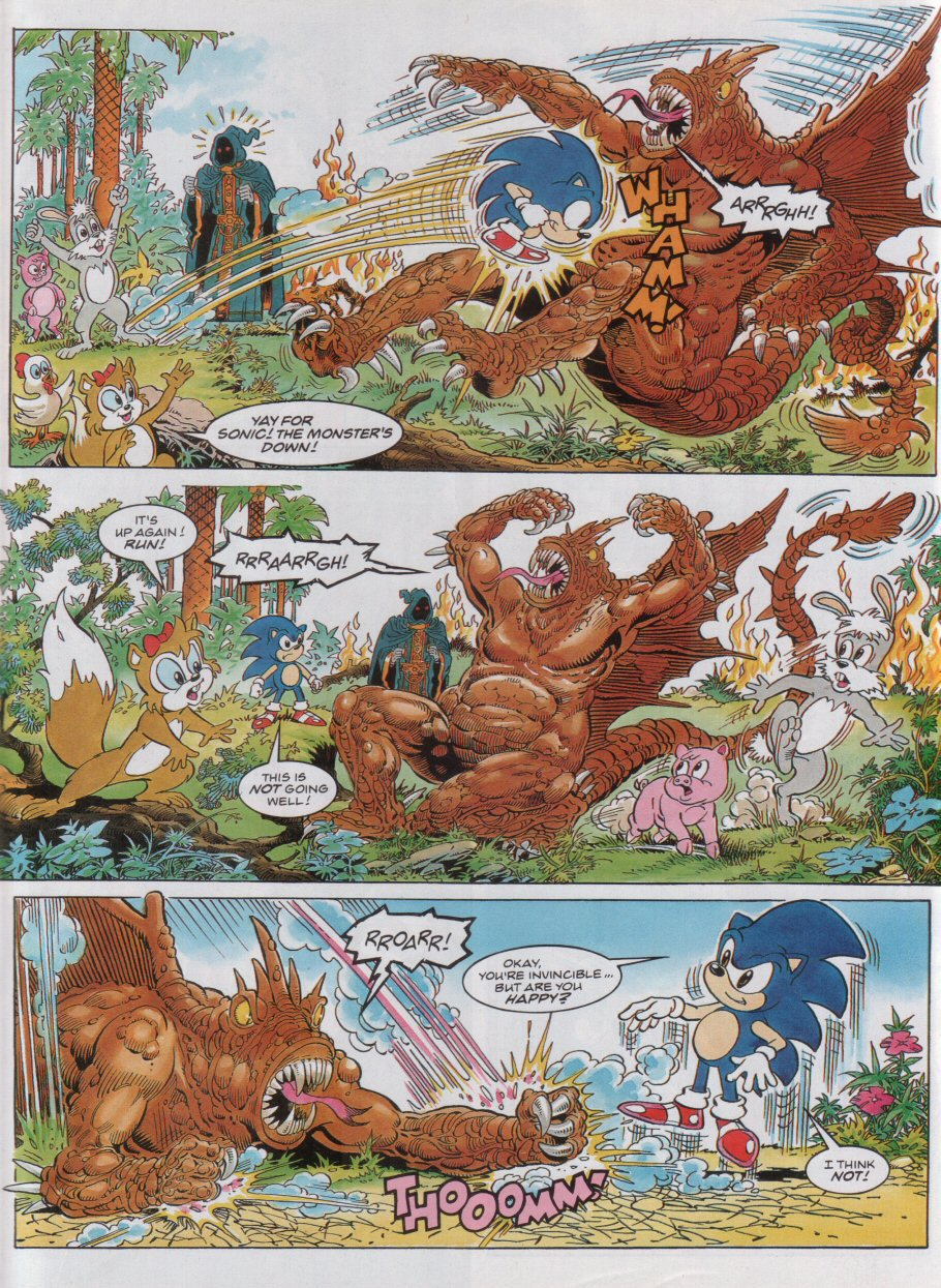 Read online Sonic the Comic comic -  Issue #32 - 7