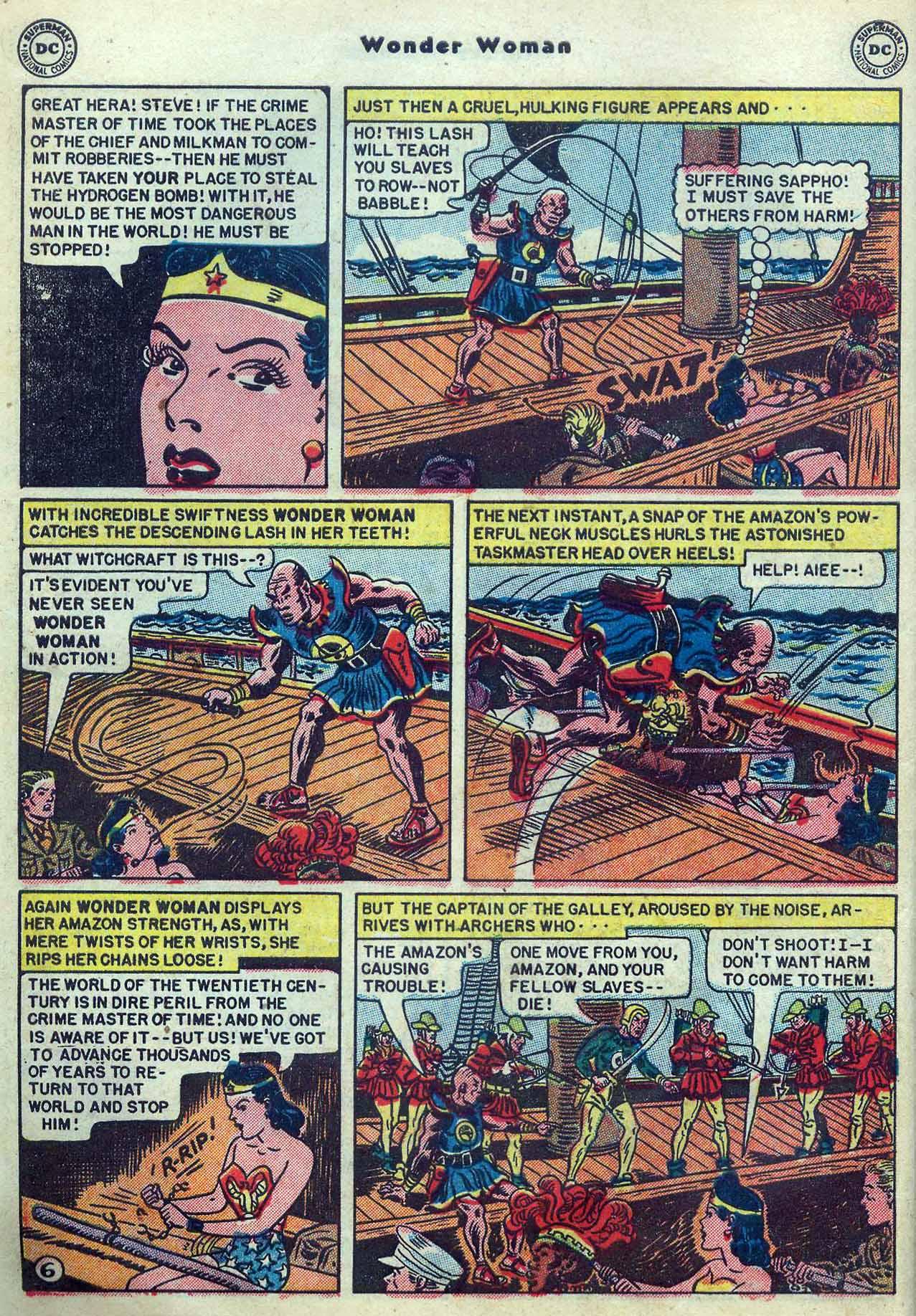 Read online Wonder Woman (1942) comic -  Issue #53 - 8