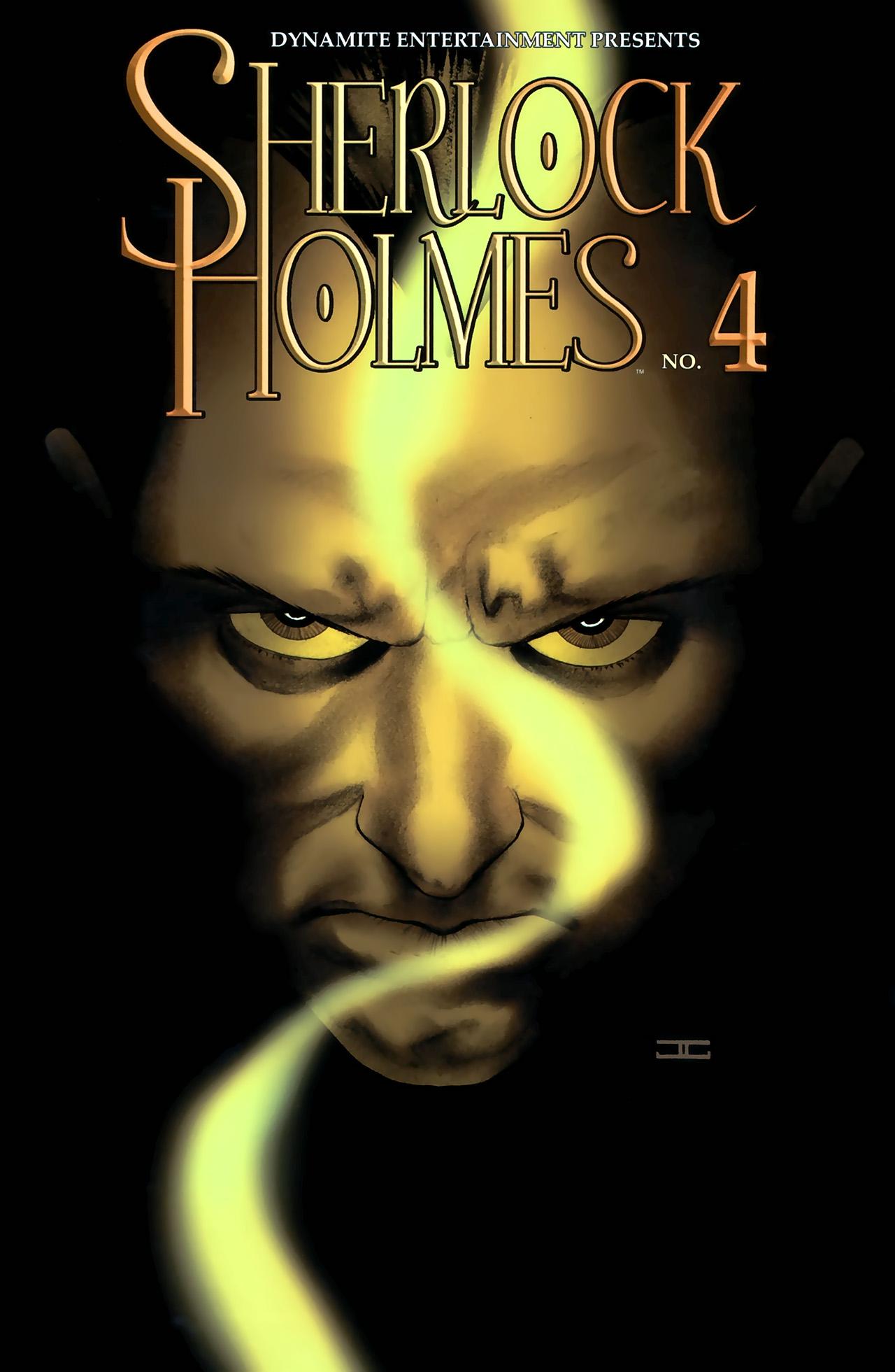 Read online Sherlock Holmes (2009) comic -  Issue #4 - 1