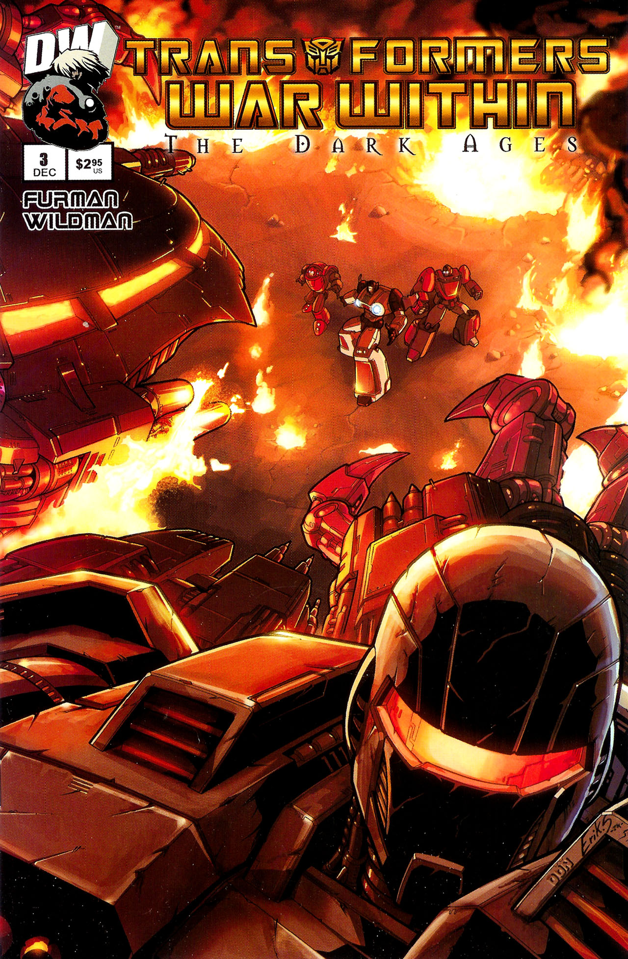 """Read online Transformers War Within: """"The Dark Ages"""" comic -  Issue #3 - 1"""