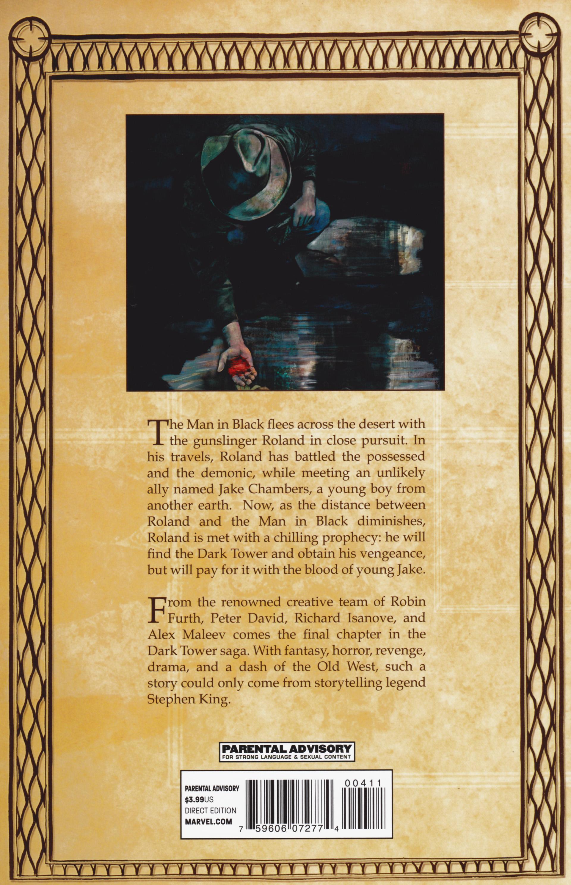 Read online Dark Tower: The Gunslinger - The Man in Black comic -  Issue #4 - 31