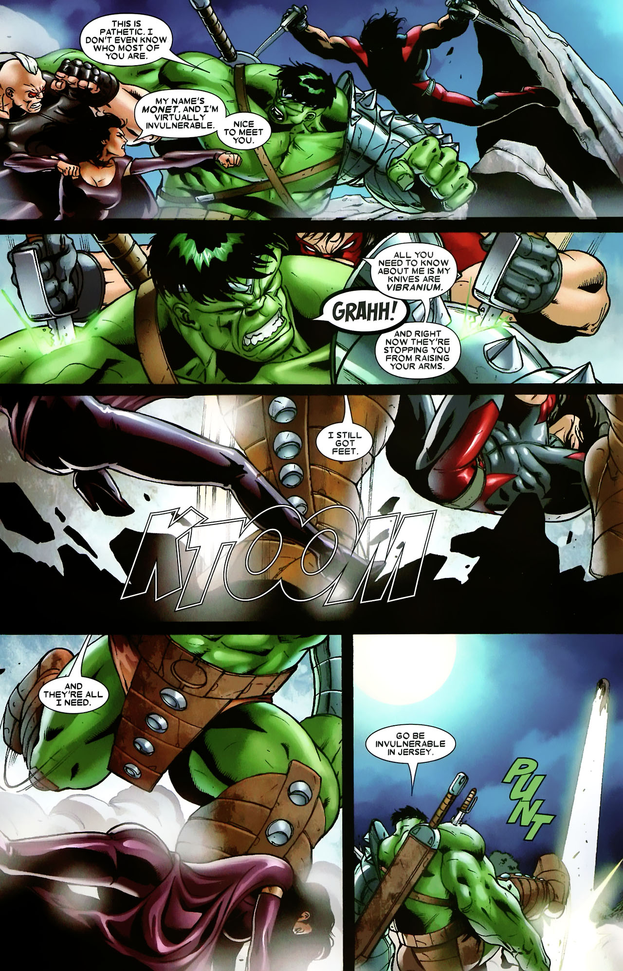 Read online World War Hulk: X-Men comic -  Issue #3 - 6