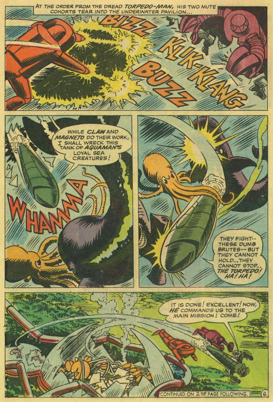 Read online Aquaman (1962) comic -  Issue #36 - 8