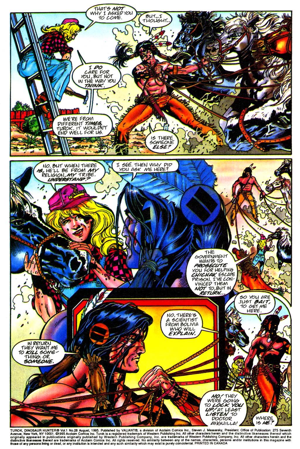 Read online Turok, Dinosaur Hunter (1993) comic -  Issue #28 - 3